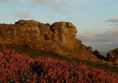 Cow & Calf Rocks - Ilkley Moor