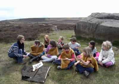 School Day's Out   Friends of Ilkley Moor